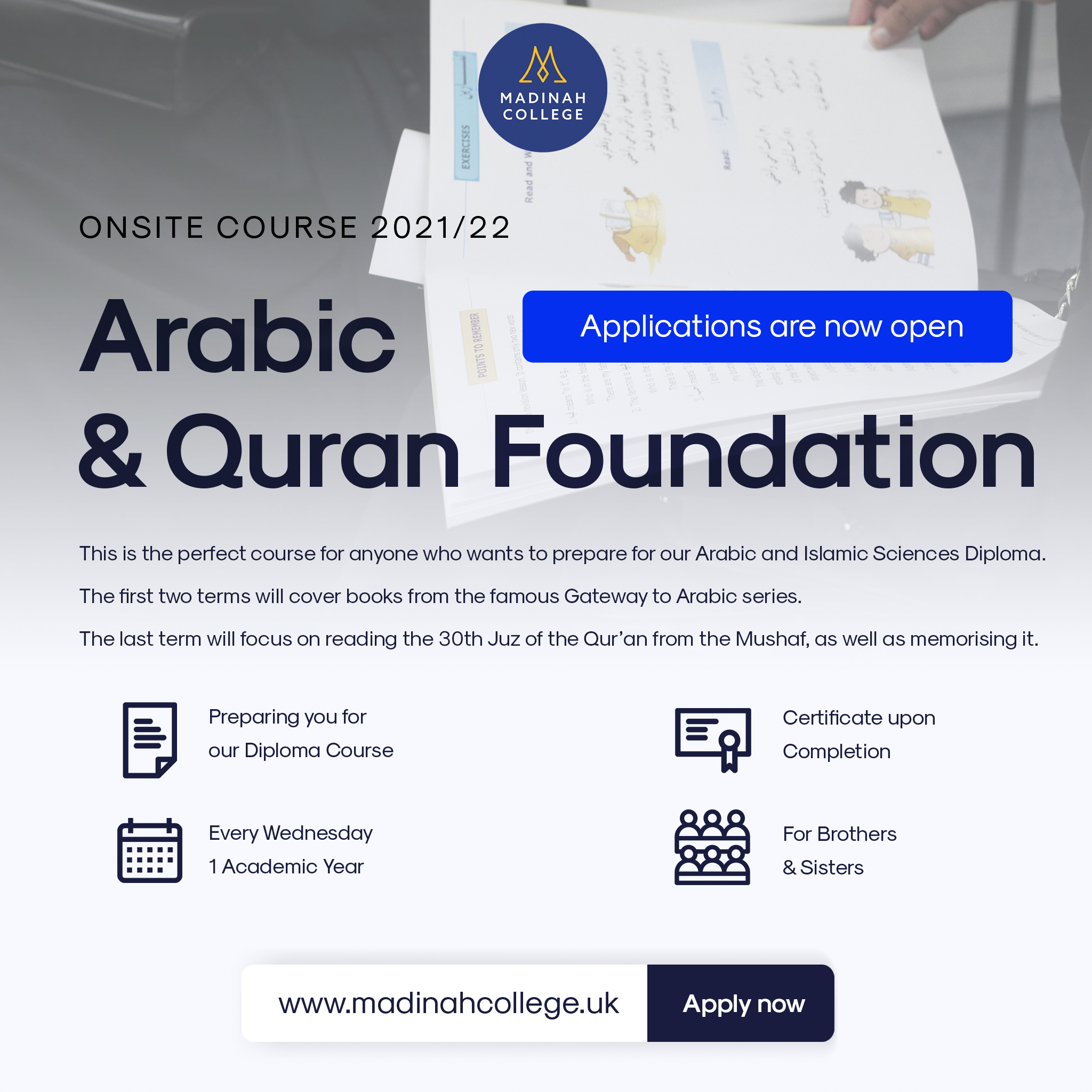 Foundation Course Instagram